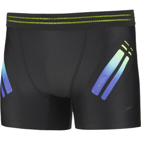 speedo Hydrosense Bonded Aquashorts Men, black/green